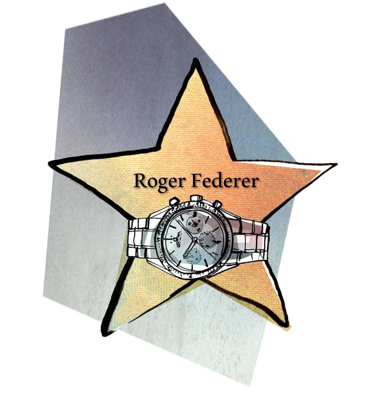 Roger Federer und Rolex in der Serie Watch of Fame