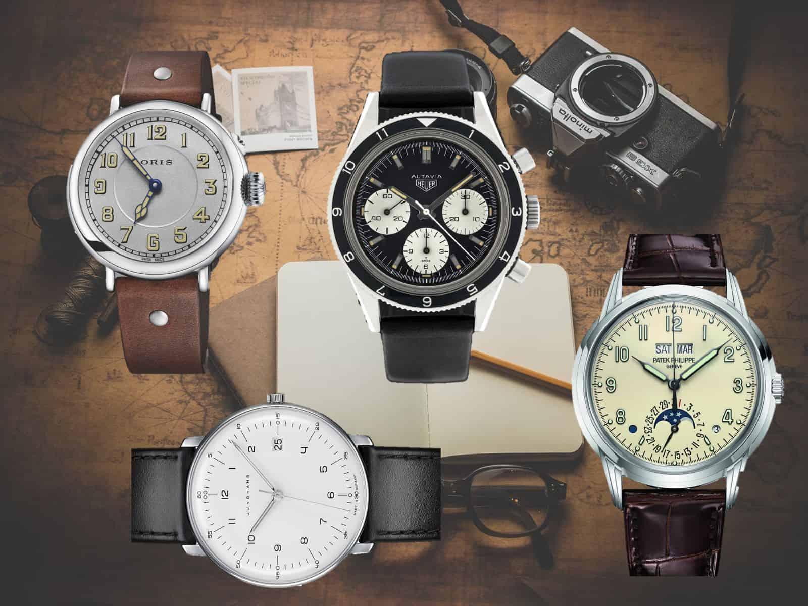 Uhren im Retro Look