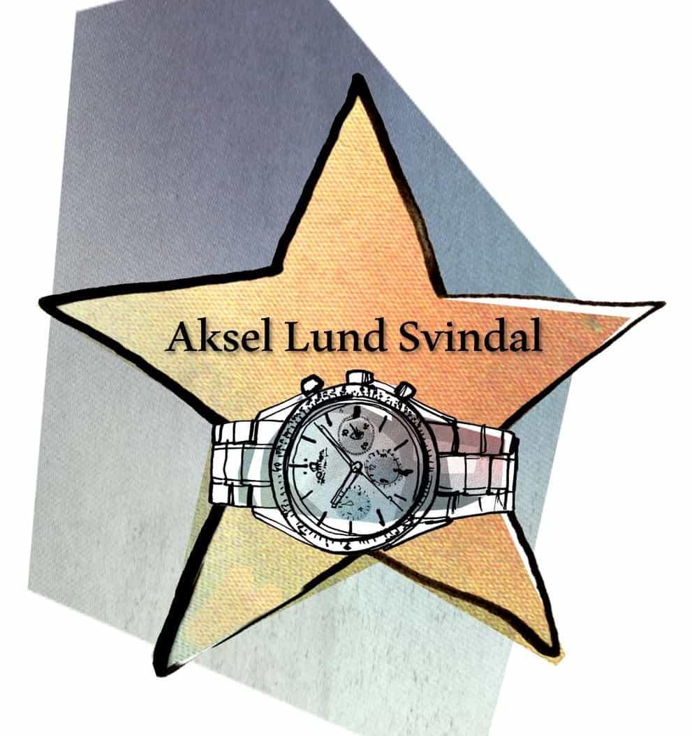 Watch of Fame - Aksel Lund Svindal und LonginesLongines und der schnelle Bär aus Norwegen