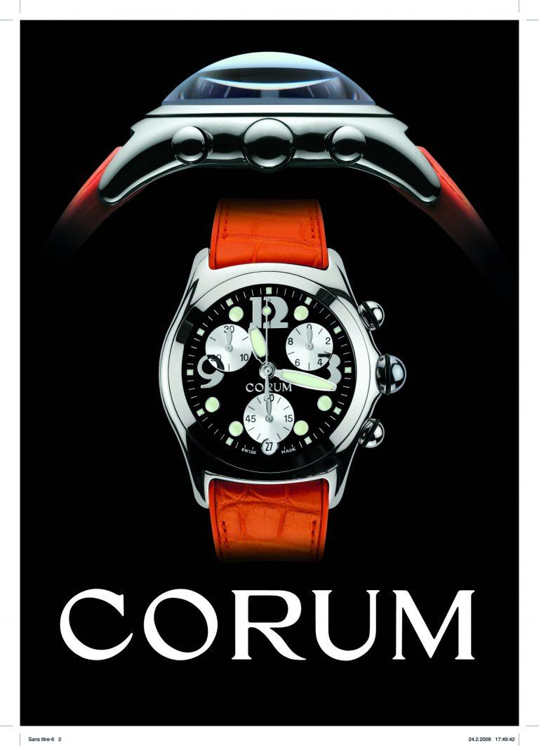 Die Bubble der Marke Corum war im Jahr 2000 eine ungewöhnliche Uhrenneuheit