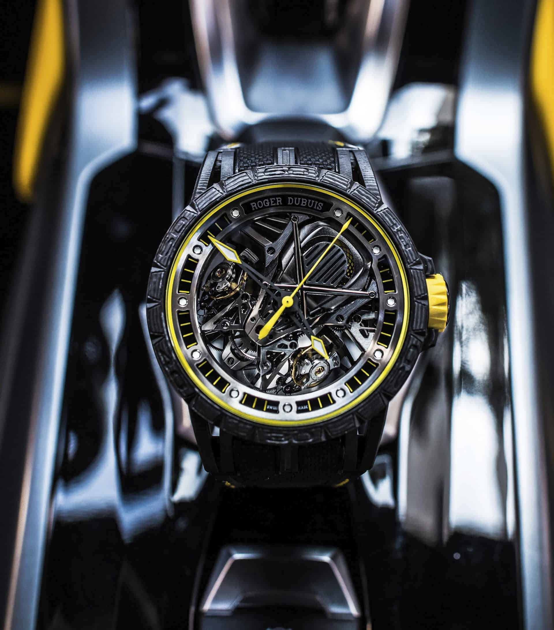 Entstand unter der Ägide von Jean-Marc Puntrue: Roger Dubuis Excalibur Aventador S