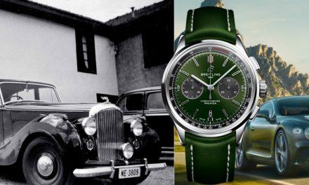 Breitling Premier B01 Bentley – so geht Eleganz im Bentley Style