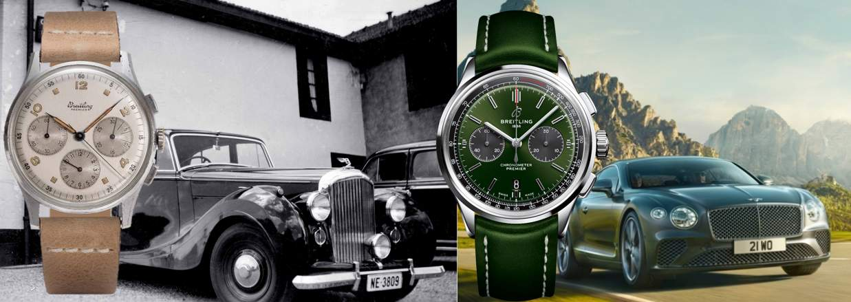 Breitling übt sich in bodenständiger Eleganz – auch beim Modell für Bentley