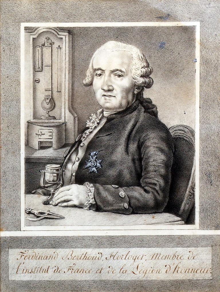 Historisches Bild des Uhrmachers Ferdinand Berthoud