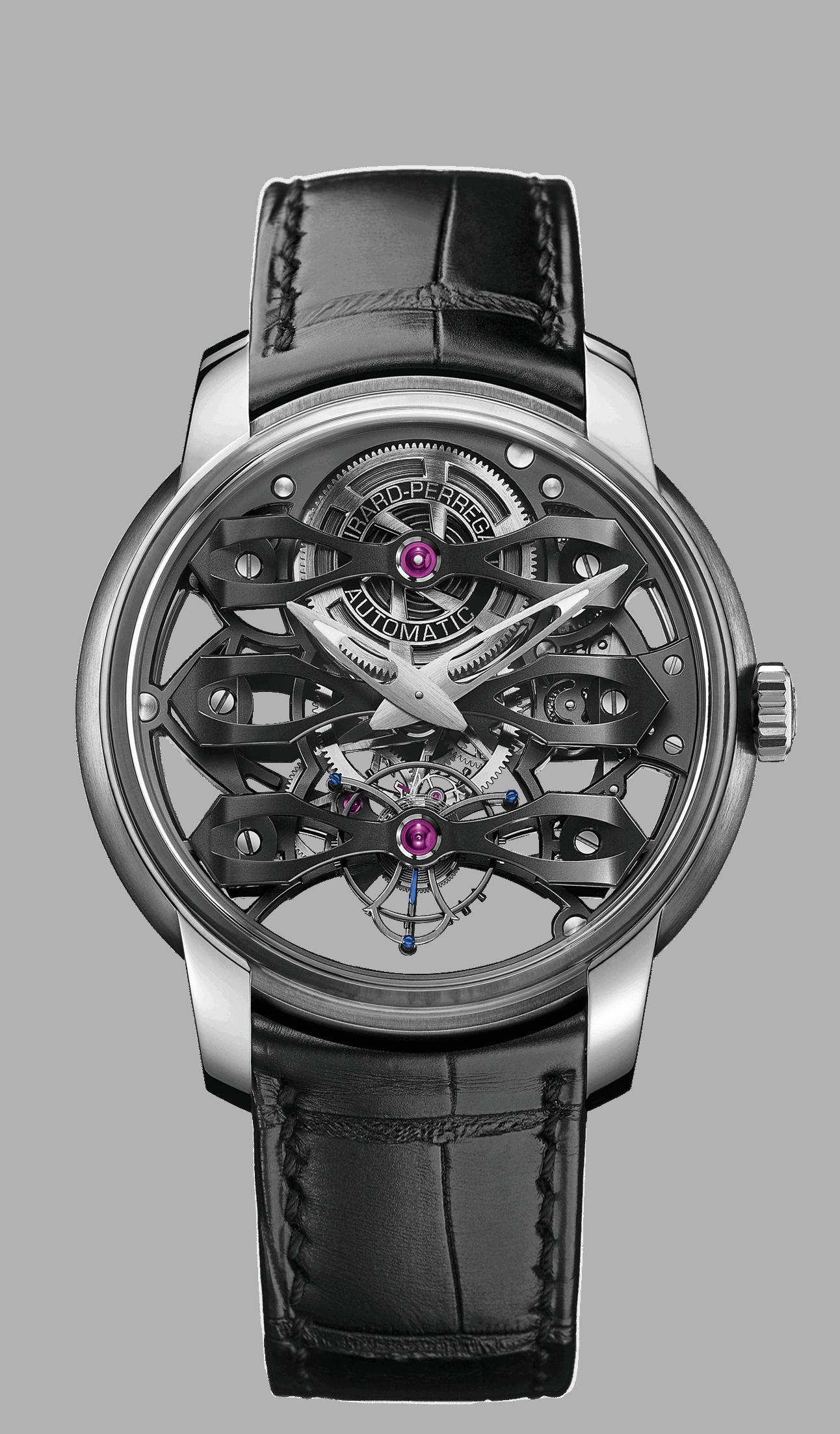 Serie Tourbillons: Das Girard Perregaux Neo Tourbillon Skeleton Girard Perregaux Neo Tourbillon: Diese skelettierte Uhr lässt tief blicken
