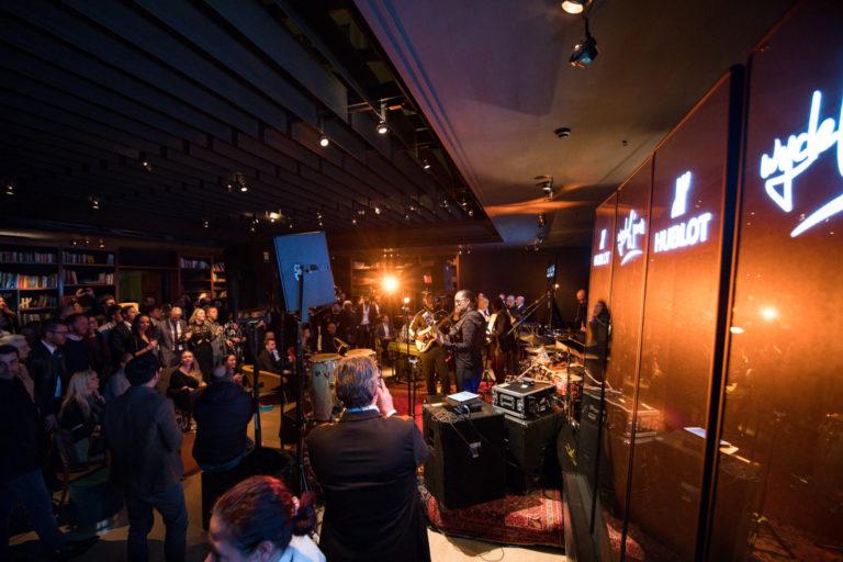 Im Partymodus - Hublot und die 150 Gäste beim Jubiläum der Boutique München