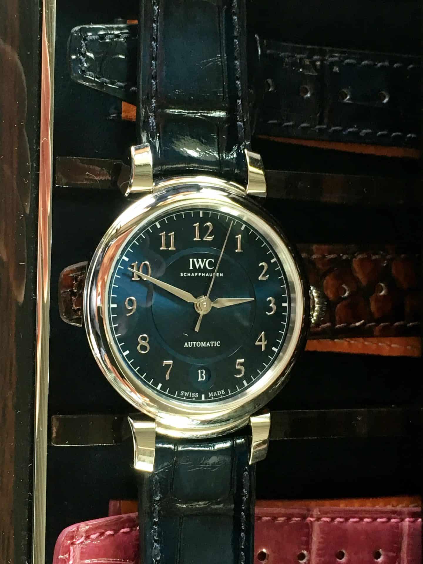 Die 2017 vorgestellte DaVinci-Uhrenlinie von IWC ist eher für Damen gedacht