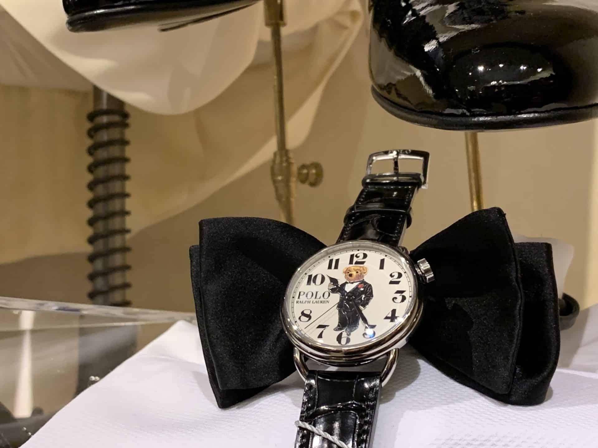 Die Polo Ralph Lauren Uhr mit dem Martini Bear Motiv