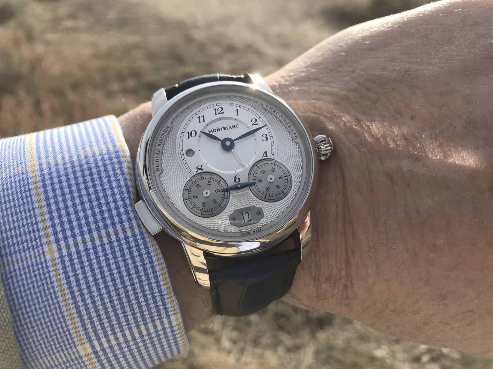 Montblanc Star Legacy Nicolas Rieussec Chronograph - SIHH 2018