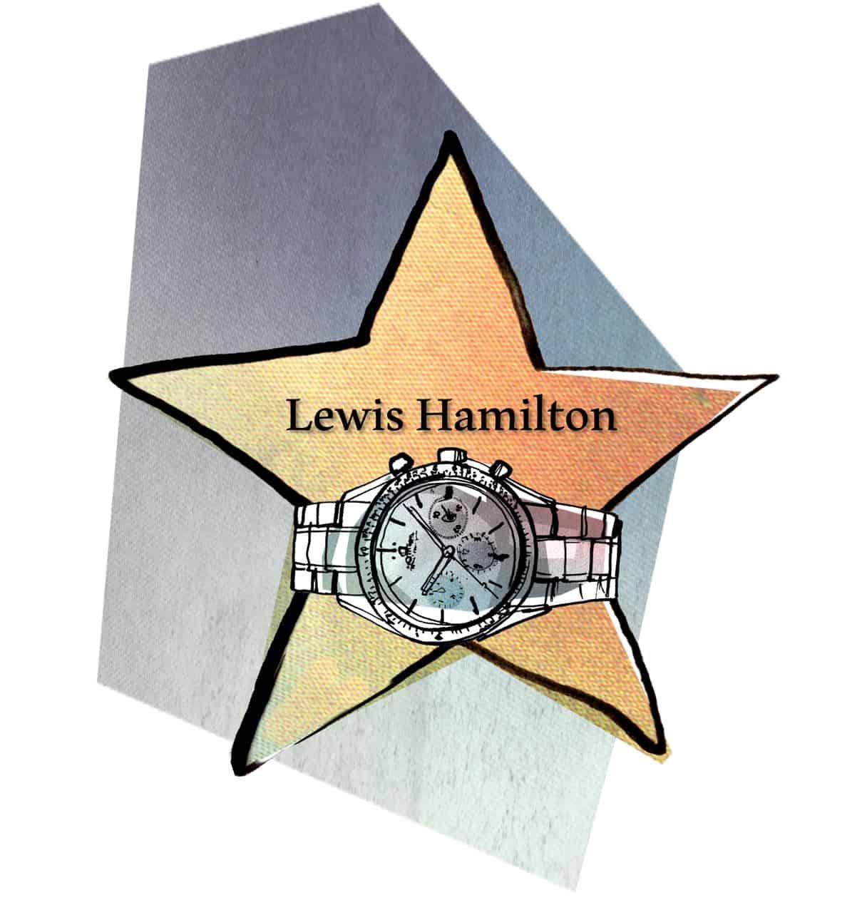 Watch of Fame - Lewis Hamilton und IWCAuf der Überholspur