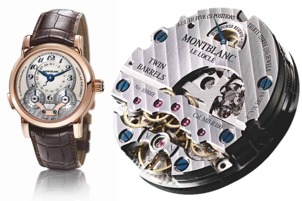 Feine Technik unter großem Namen: Montblanc Rieussec Chronograph Handaufzug 2018