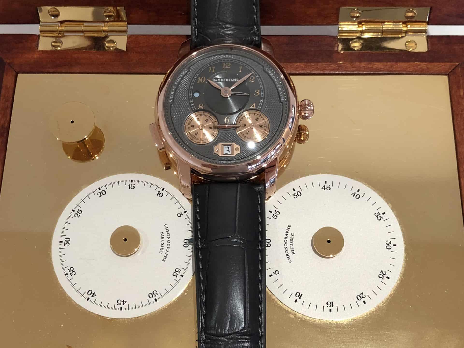 Montblanc Star Legacy Nicolas Rieussec Chronograph Rotgold, 20.000 Euro