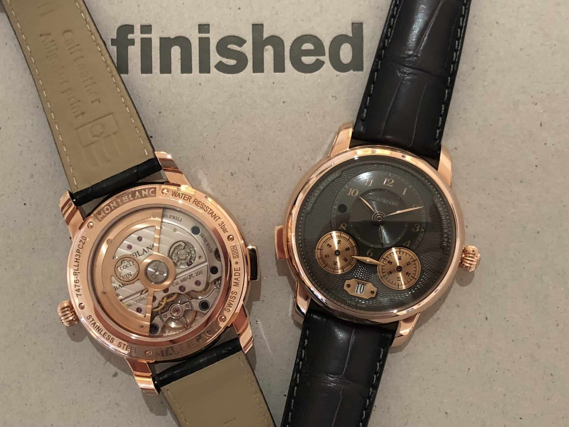 Montblanc Star Legacy Nicolas Rieussec - schöner Chronograph in Rotgold