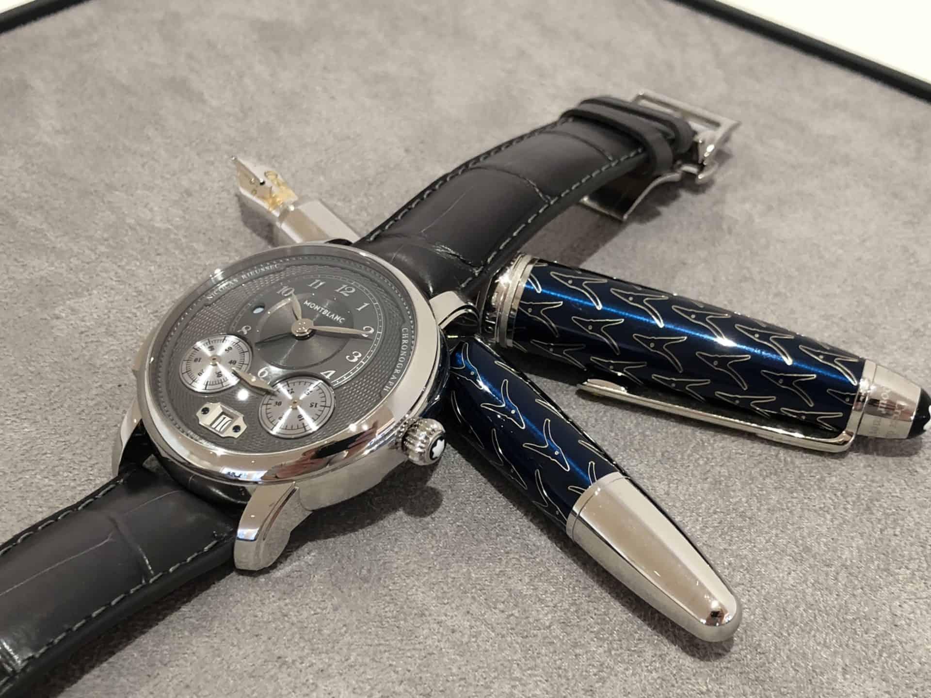 Montblanc Star Legacy Nicolas Rieussec Chronograph Steel ID 119954 EUR 7.450 2f