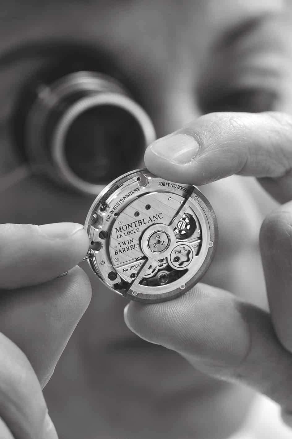 Montblanc Rieussec Chronograph, Kaliber MB R200