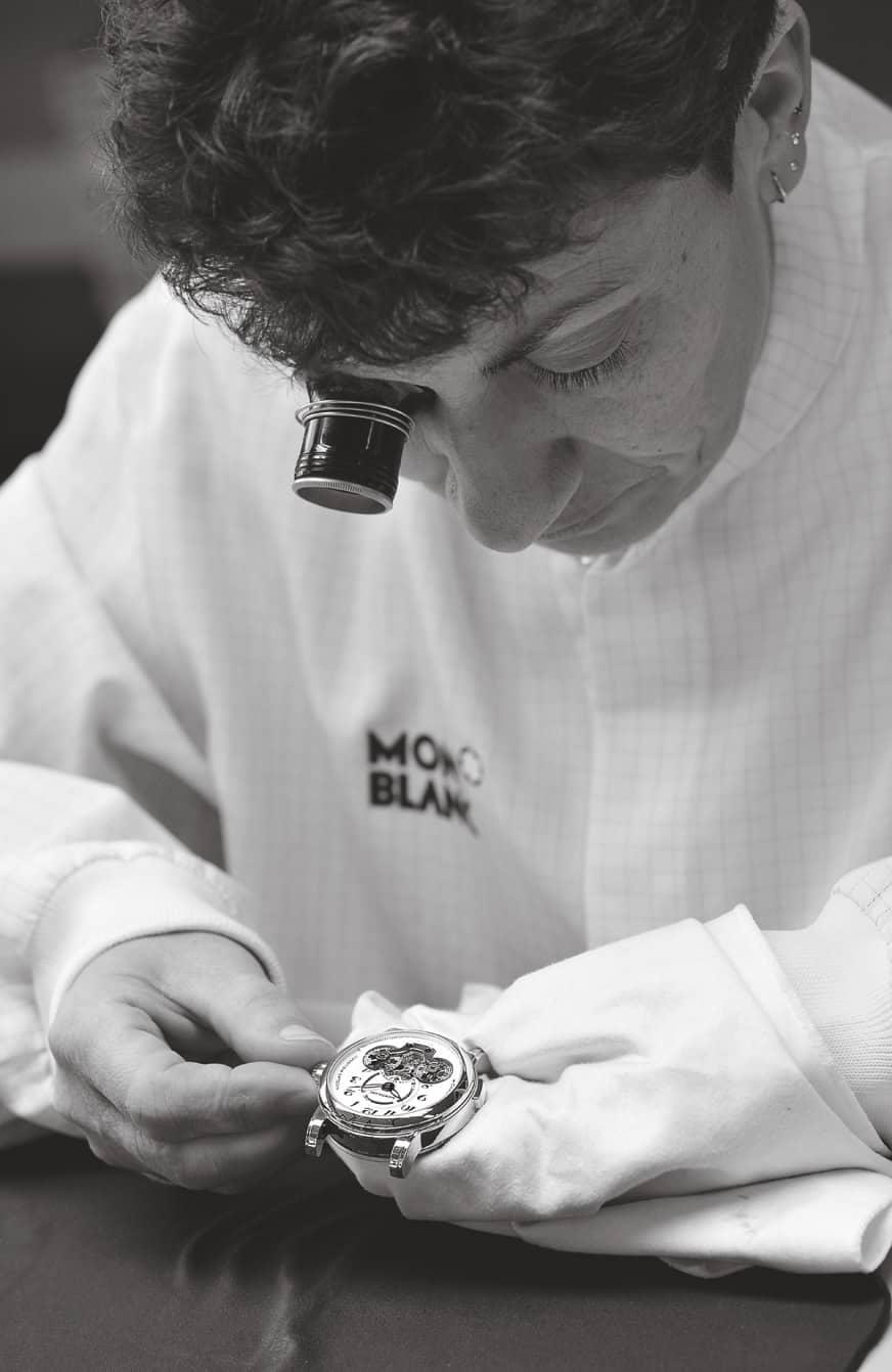 Montblanc Star Rieussec Chronograph Handaufzug 2008 1