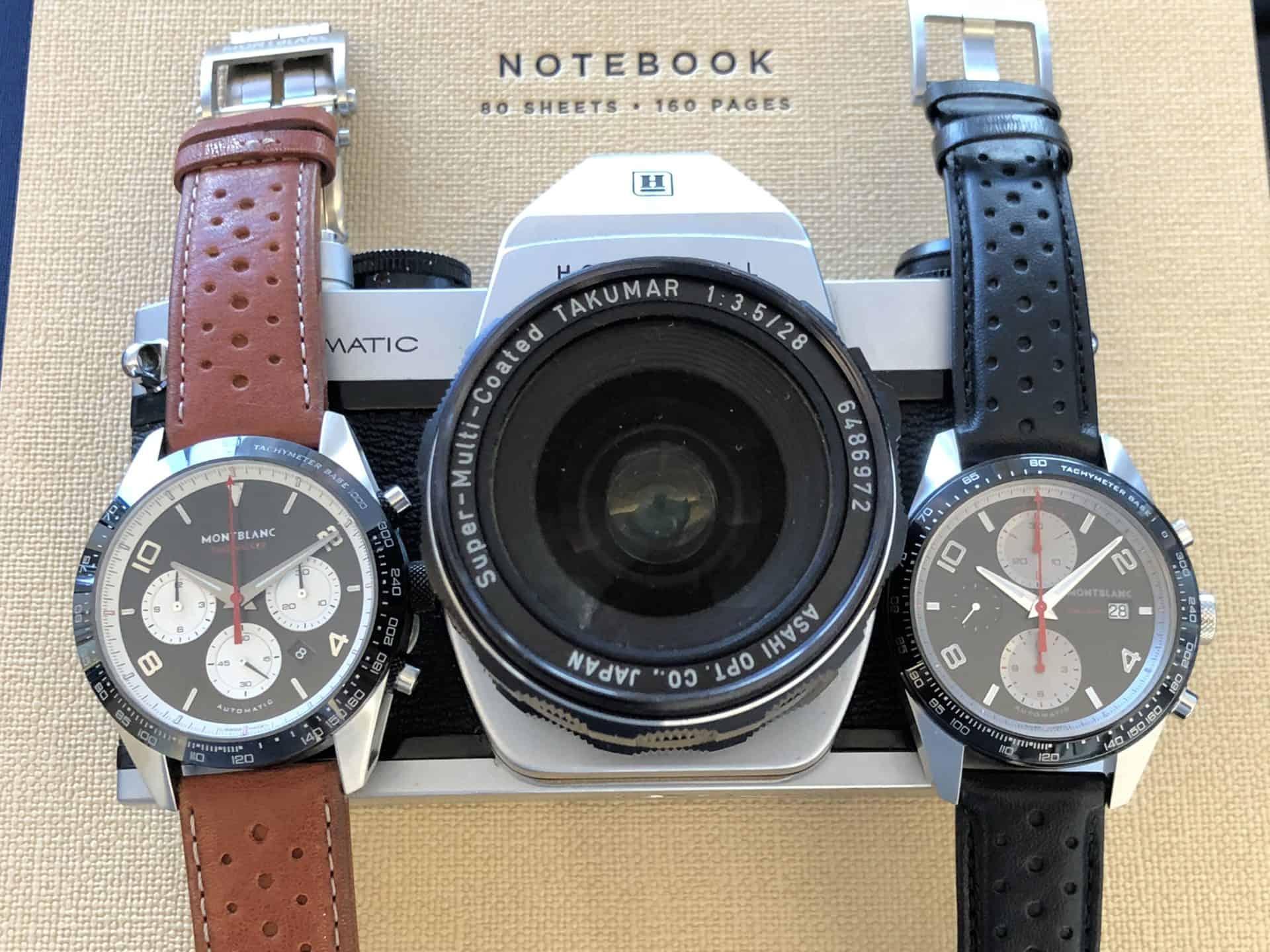 Montblanc TimeWalker Manufacture Chronograph, 4.990 Euro und TimeWalker Automatic Chronograph Reverse Panda, 3.200 Euro