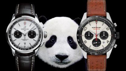 Zifferblätter im Panda-Look