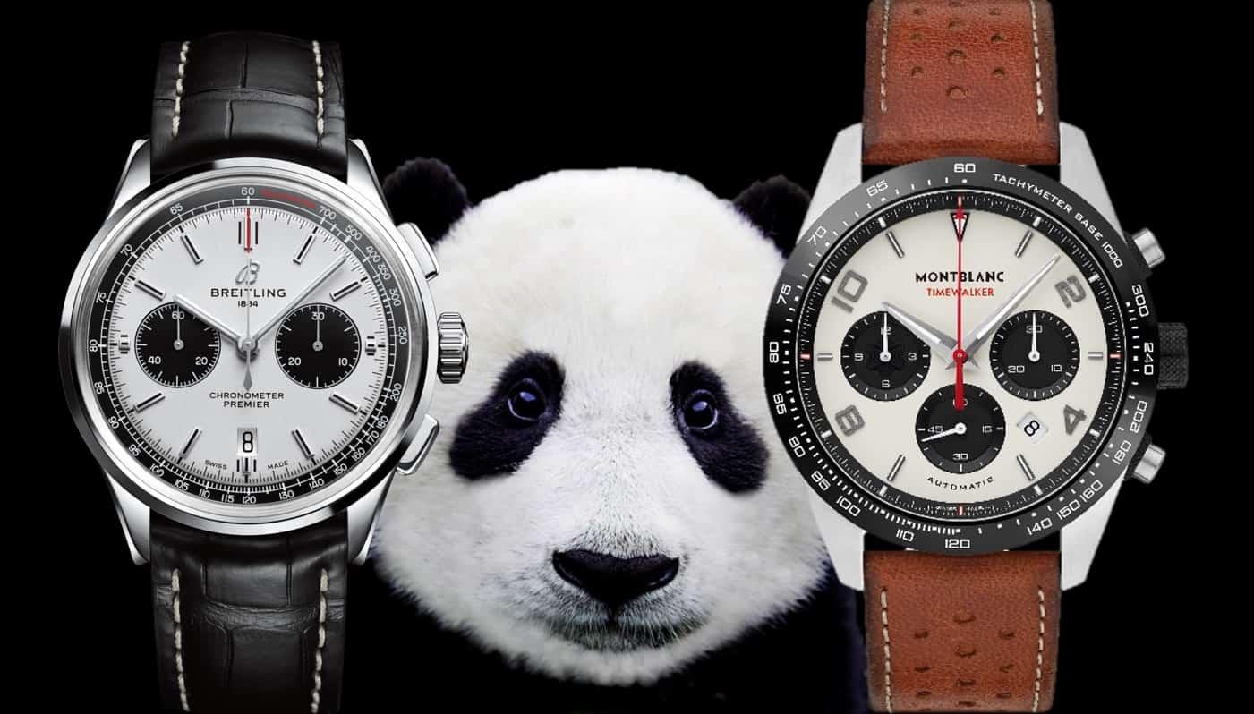 Chronographen Zifferblätter im Panda-Look (Teil I)Panda Zifferblatt: Chronographen mit Permanent-Sekunde und Totalisatoren