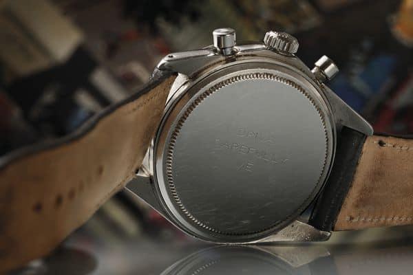 Worte von immensem Wert: Die Widmung auf der Newman Rolex Daytona, die von Phillips für 17,752,500 Dollar am 26. Oktober 2017 verkauft wurde.