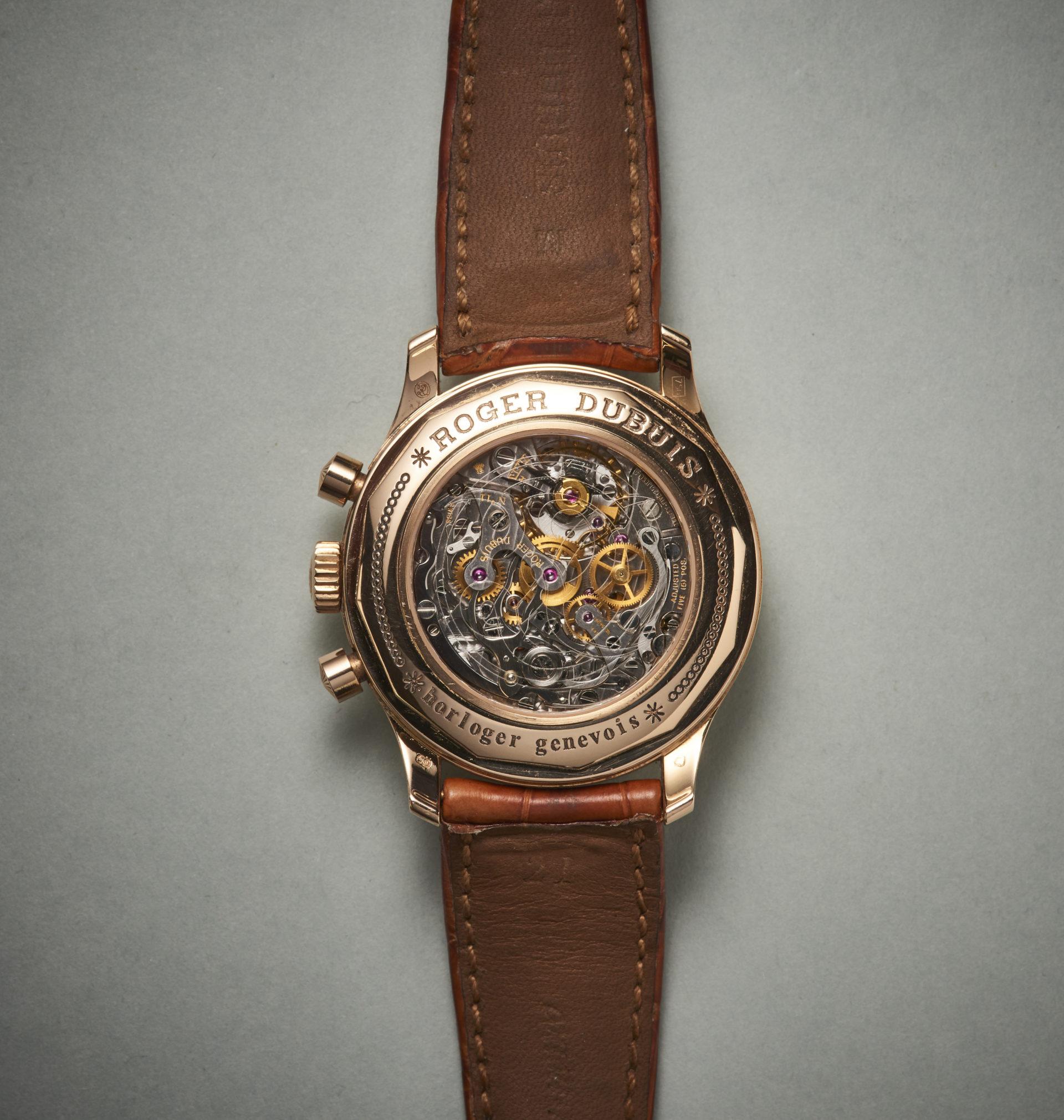 Roger Dubuis Hommage Chronograph Datum Wochentag retrograd ca 1997 2 Foto GLB