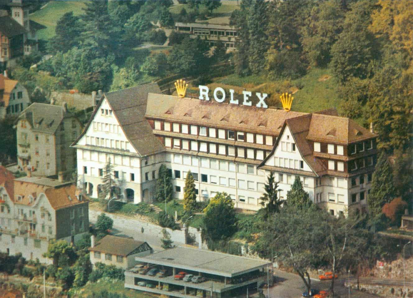 Das zweite Rolex Werk - ebenfalls am Bieler Rebberg