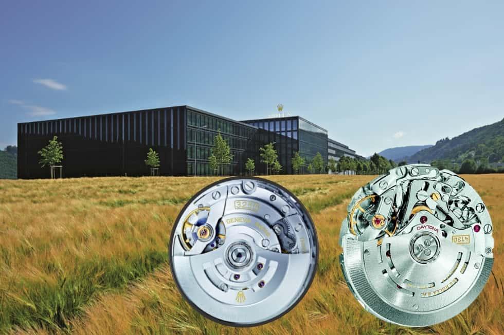 Für die Rolex Werke in Biel ist Größe die Basis für Qualität