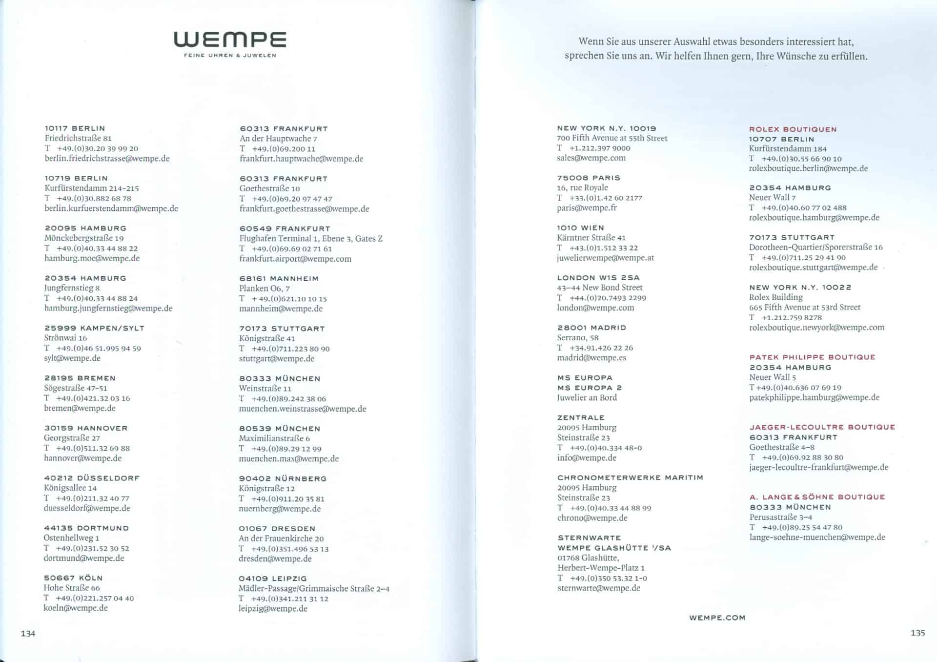 Wempe Meisterwerke 2018 19 08 Filialen