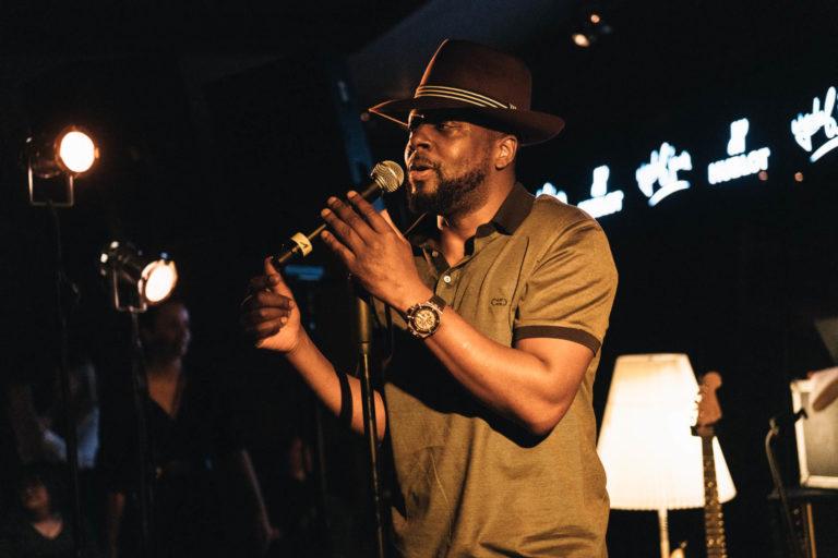 Wyclef Jean, international bekannter Musiker, war live zu hören