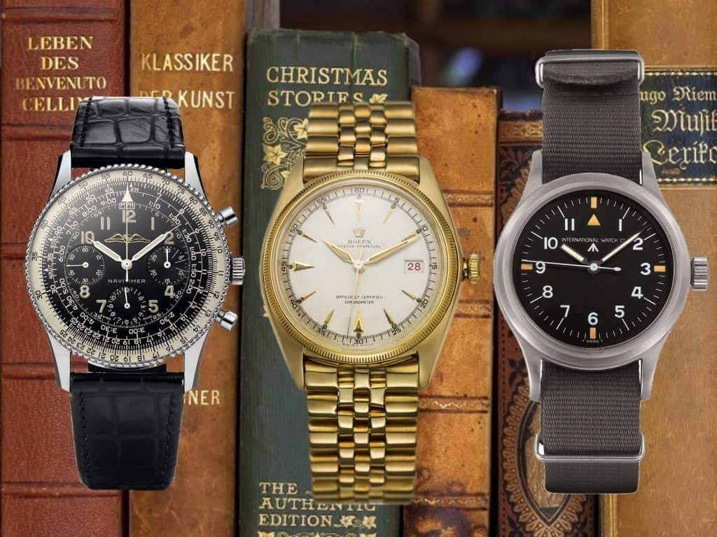 3 Uhrenklassiker Breitling Navitimer Rolex Datejust IWC Mark XI