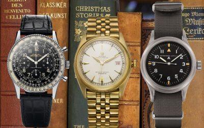 Erfolgsmodelle von Breitling, Rolex und IWCDie Rolex Datejust, IWC Mark 11 und Breitling Navitimer sind 3 echte Uhrenklassiker