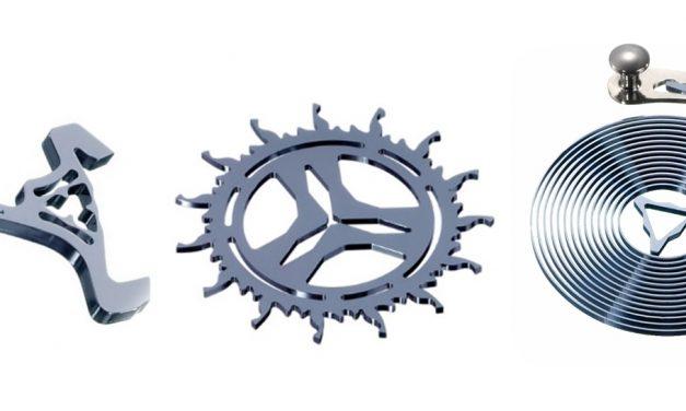 Silicon Rallye: Der Werkstoff Silizium bei Anker, Ankerrad und Unruh-Spiralen
