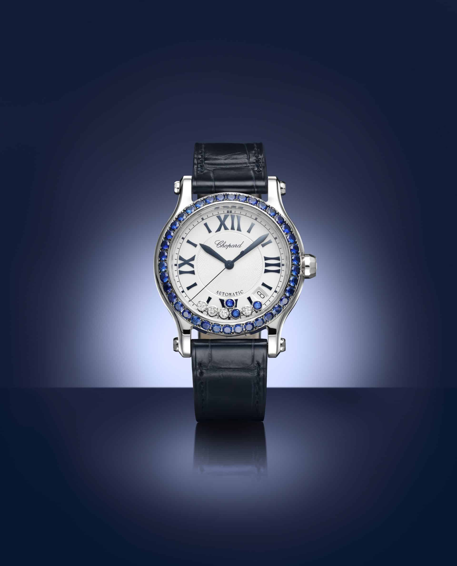 Der sportliche Glanz der Chopard Happy Sport Bucherer Blue Editions 2018