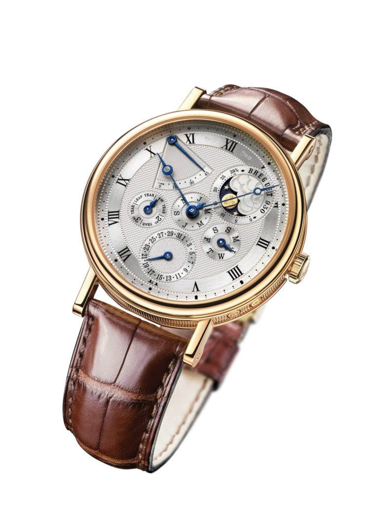 Die Grandes Complications von Breguet zeigt Mondphasen und Uhrenmechanik in faszinierender Weise