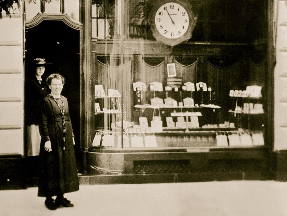 1888 eröffnete Carl Friedrich Bucherer in Luzern sein erstes Geschäft