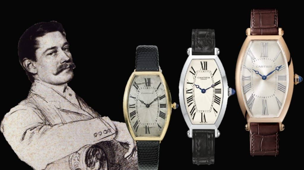 Louis Cartier und sein Modell