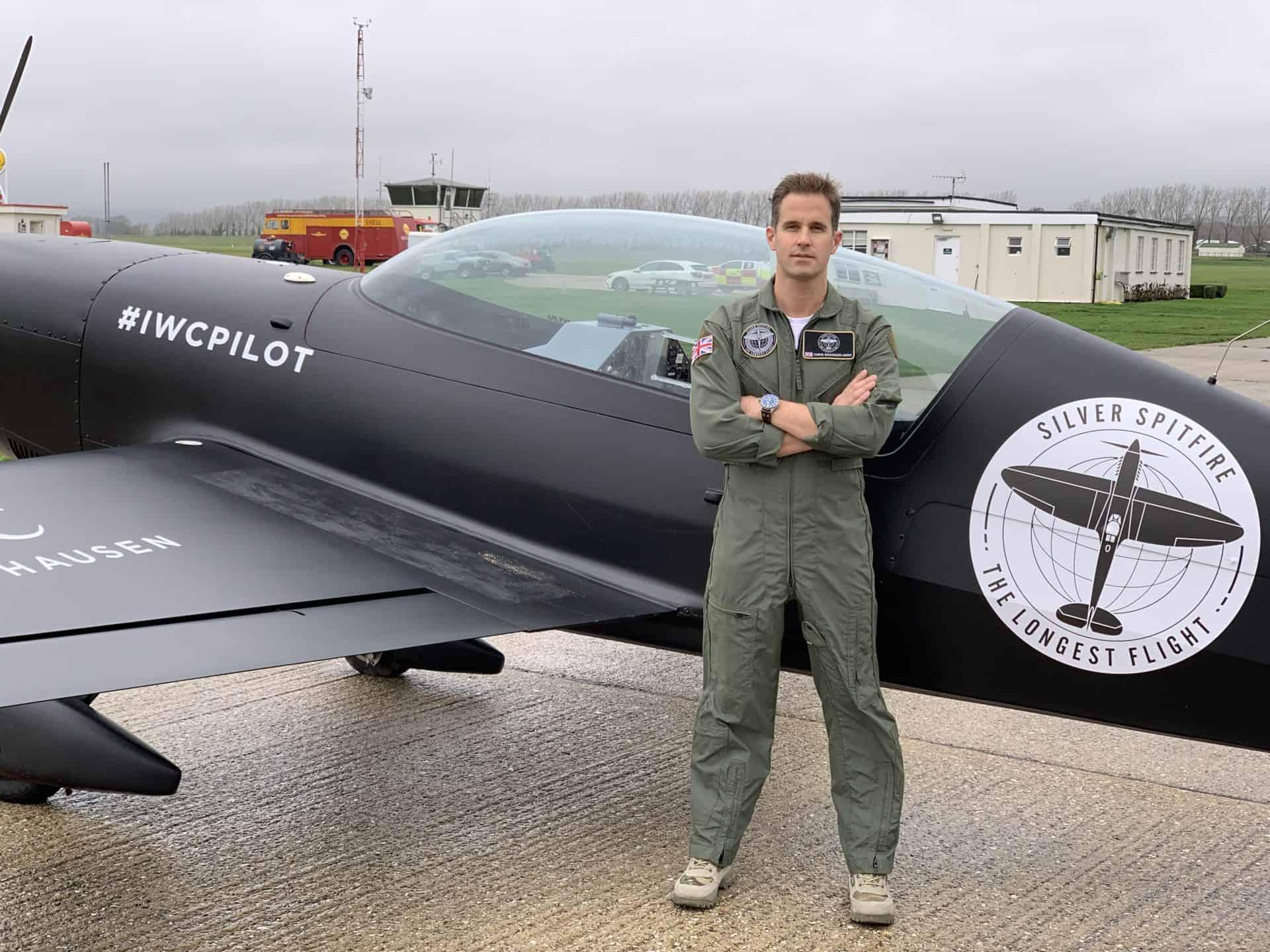 Der Chefpilot bei IWC: Christop Grainger-Herr