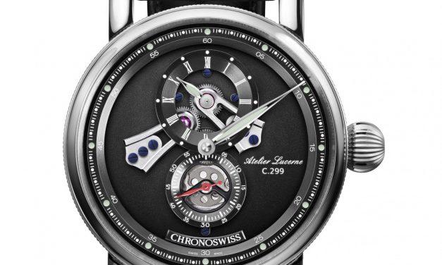Die Einzeigeruhr Chronoswiss Flying Regulator Open Gear feiert Geburtstag