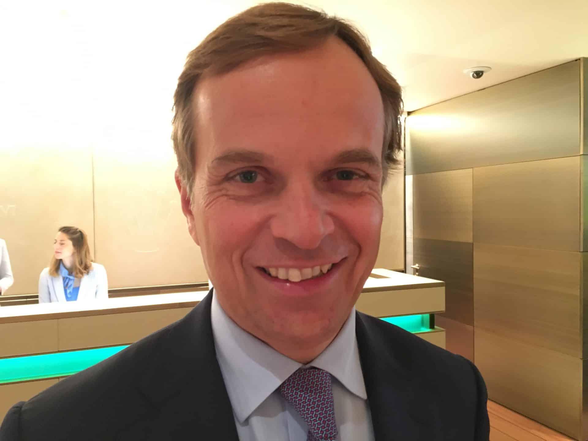 Jean-Frédéric Dufour, seit Juni 2015 CEO von Rolex CEO