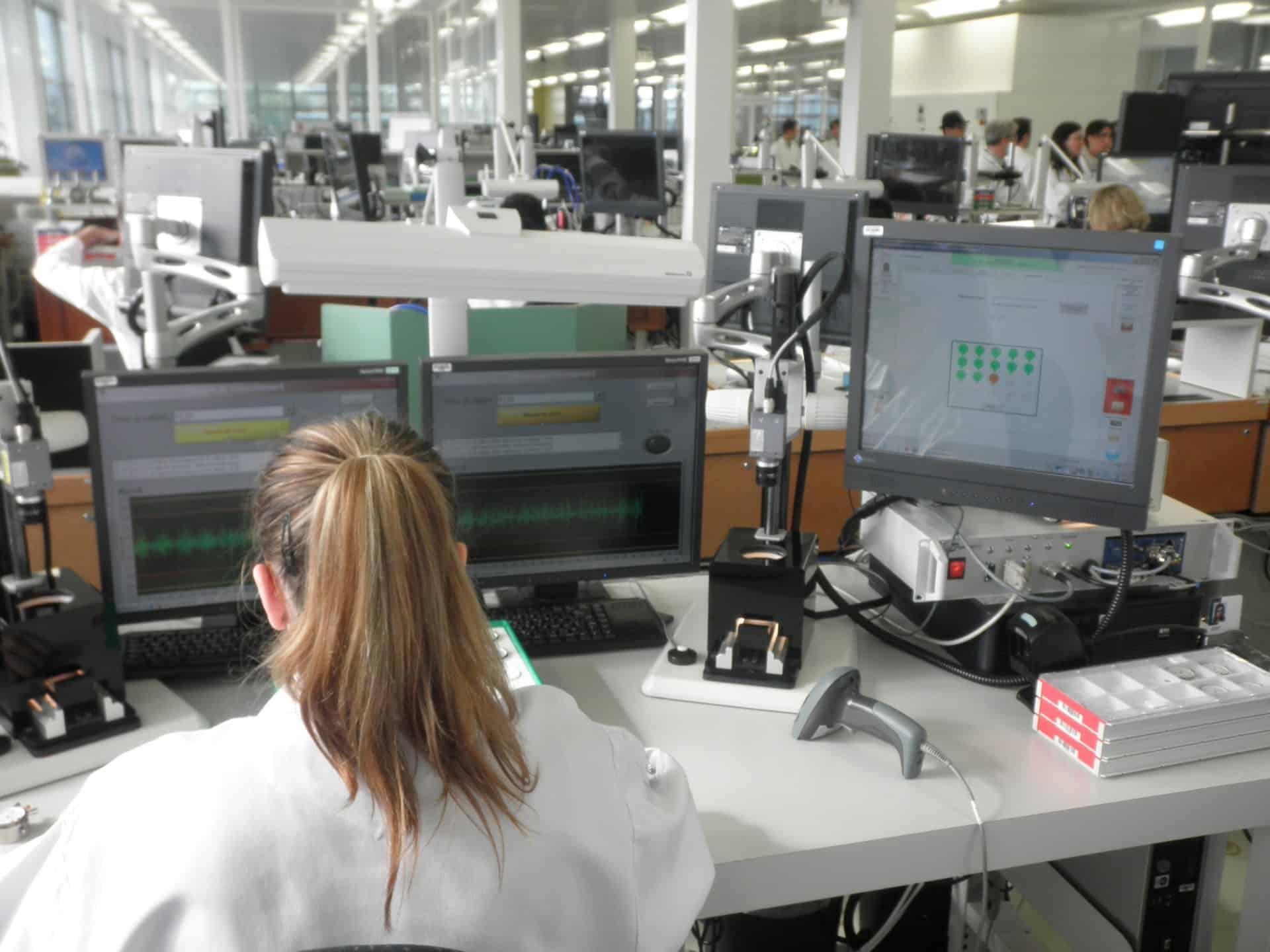 Regulierung mit elektronischer Zeitwaage