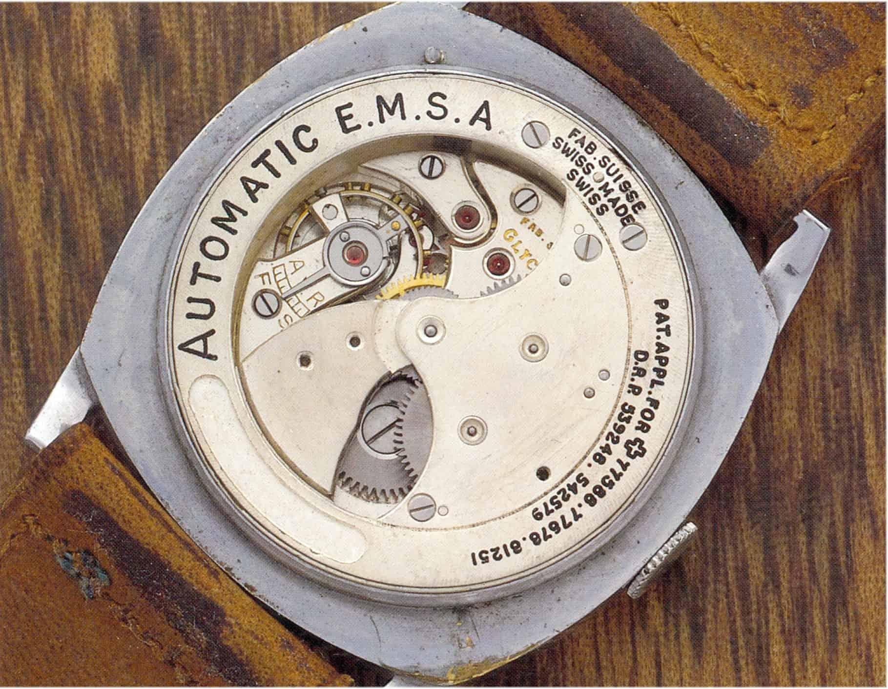 Glycine Automatic EMSA kleine Sekunde - Kaliber 35