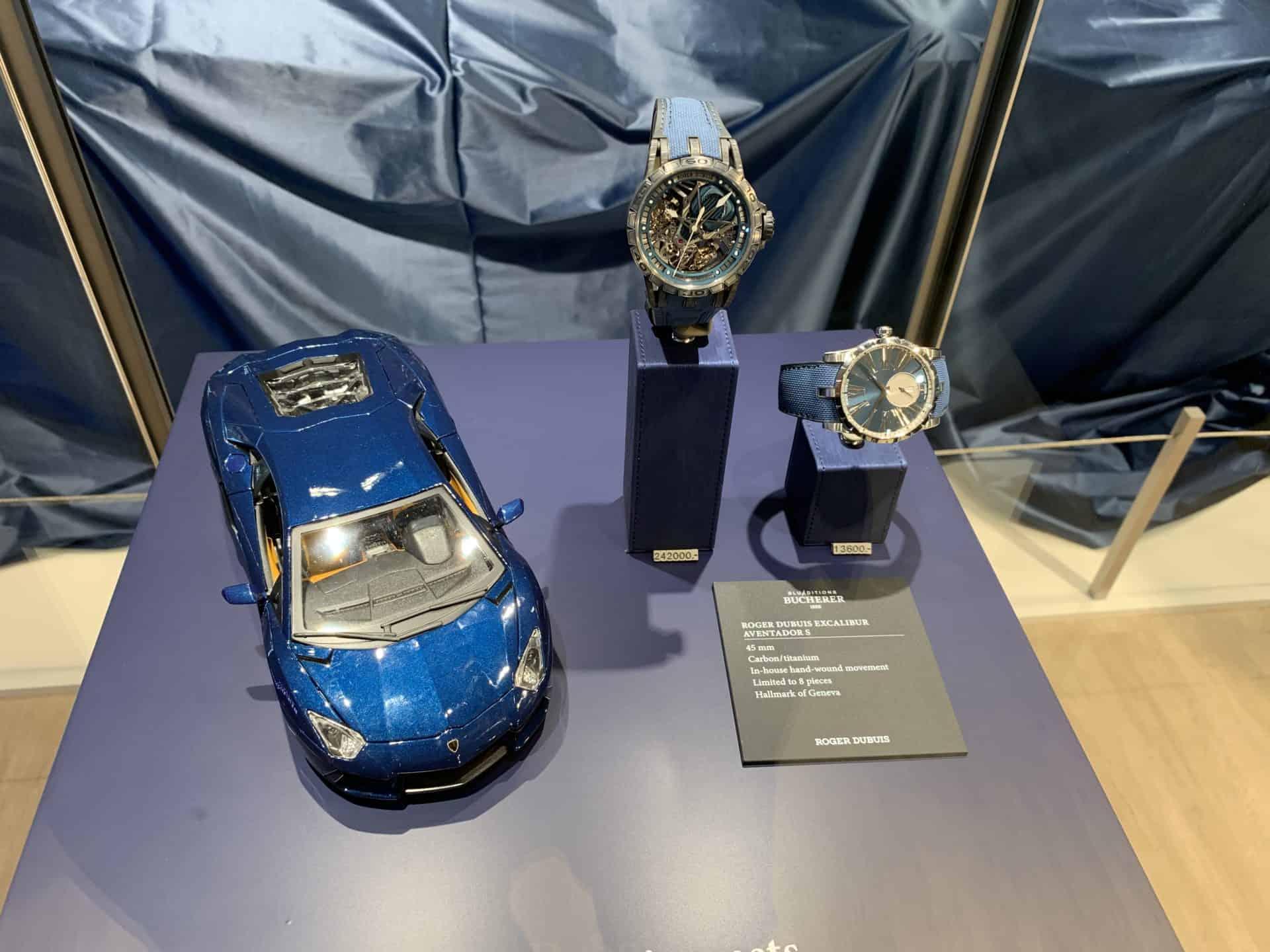 Lamborghini, Roger Dubuis und Bucherer Blue Editions im Dreiklang