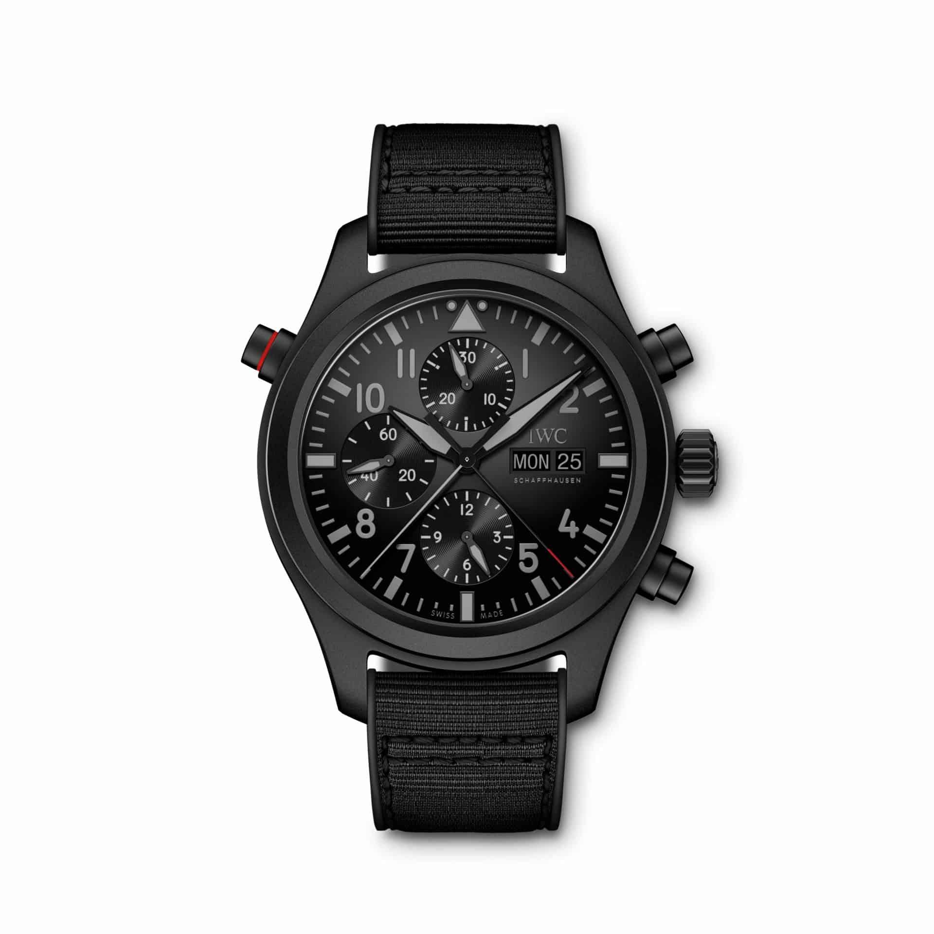 IWC_Pilot's Watch Double Chronograph TOP GUN Ceratanium