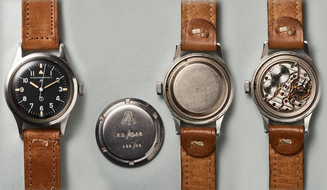 Heissbegehrt bei Piloten und Vintage-Uhrensammler - die IWC Mark 11
