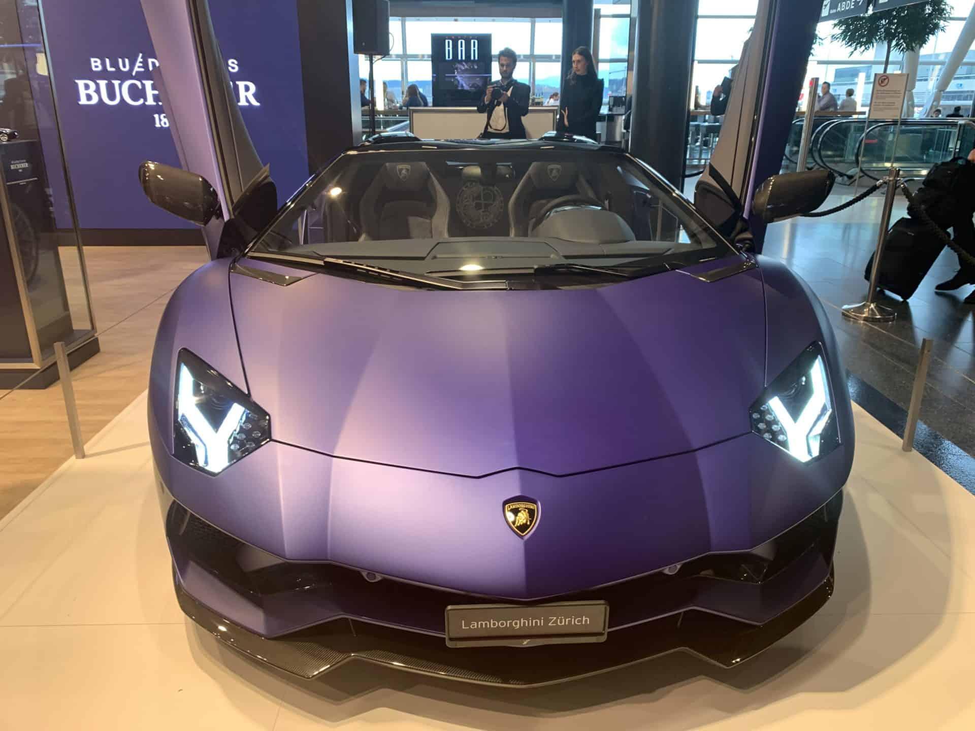 Lamborghini Aventador S Bucherer Blue Edition 1 Foto GLB