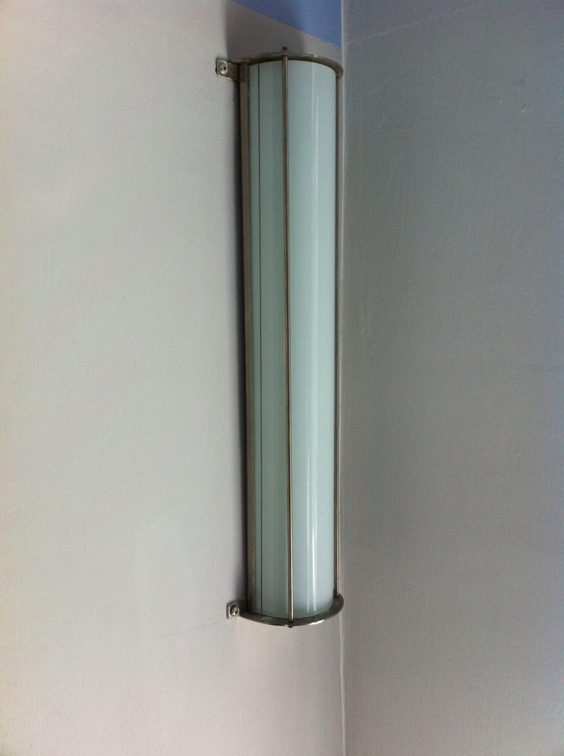 Klassische Bauhaustil Lampe in einer Dessauer Villa