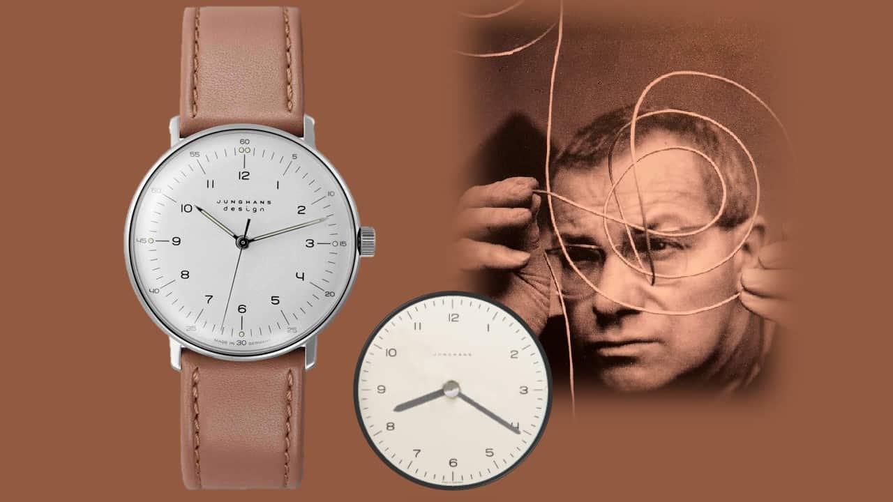Der Uhrenklassiker Max Bill von Junghans ist ein Welterfolg