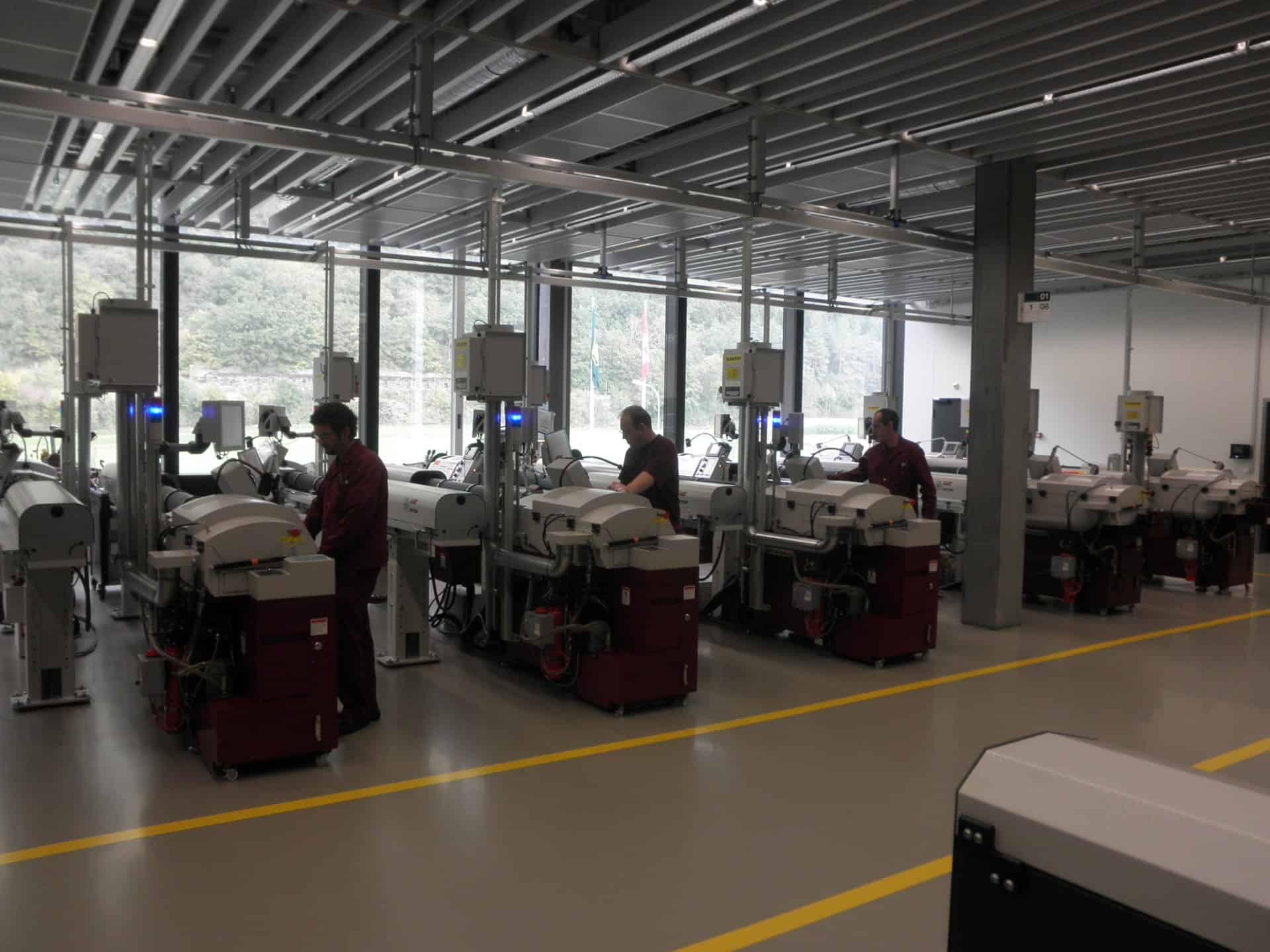 Rolex Produktion - Formdrehen