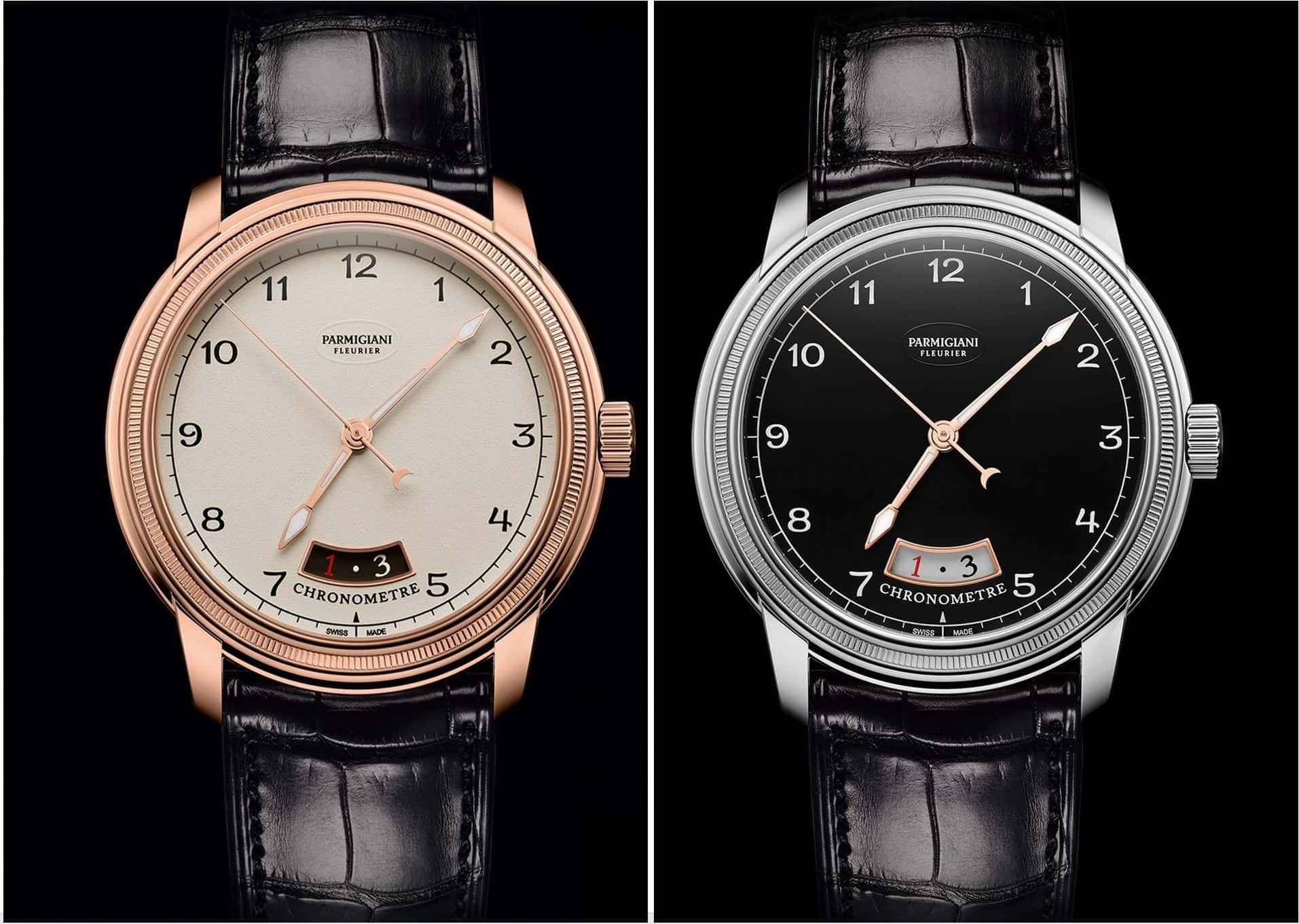Mit Modellen wie de dem Toric-Chronometre in Weißgold und Rotgold kann Parmigiani Fleurie sicher beeindrucken