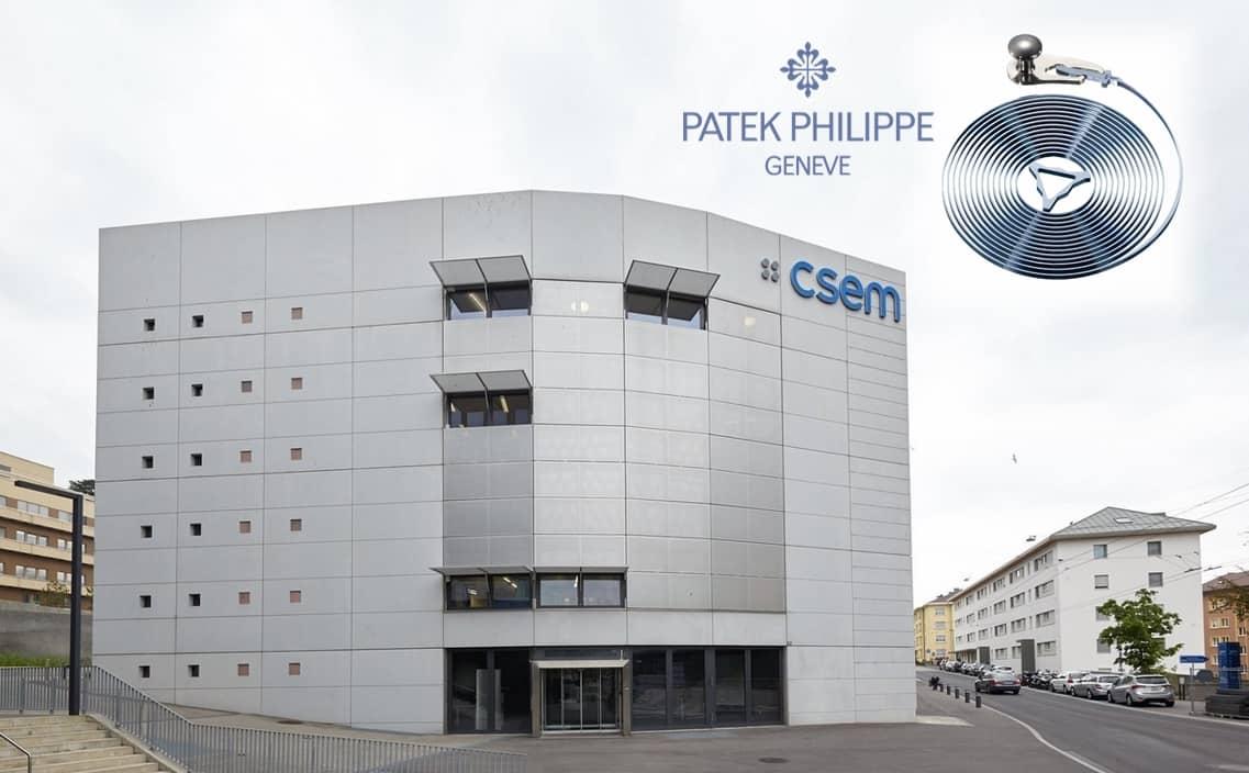Die moderne Silizium Unruh bei Patek Philippe heisst Silinvar und Spiromax